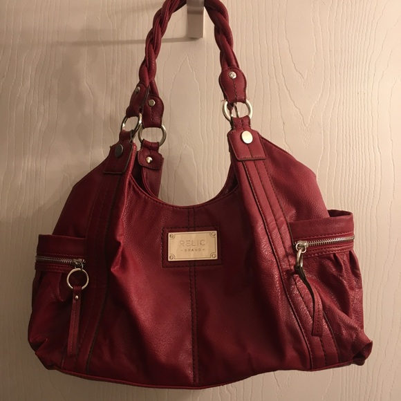 Relic Handbags - Red Relic Handbag